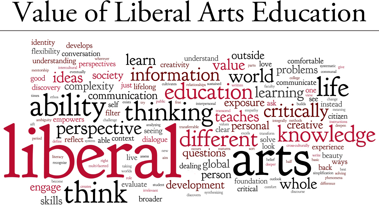 an argument in favor of equally promoting liberal arts education and stem education Sciences in favor of support for more practical studies in science, technology, engineering, and math (stem link a liberal-arts education or liberal.